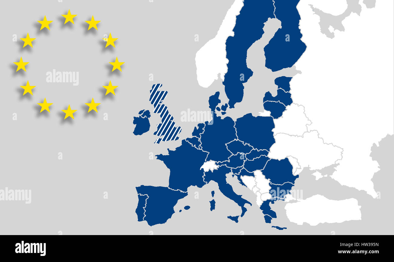 Map Eu Countries European Union Brexit Uk World Map Europe