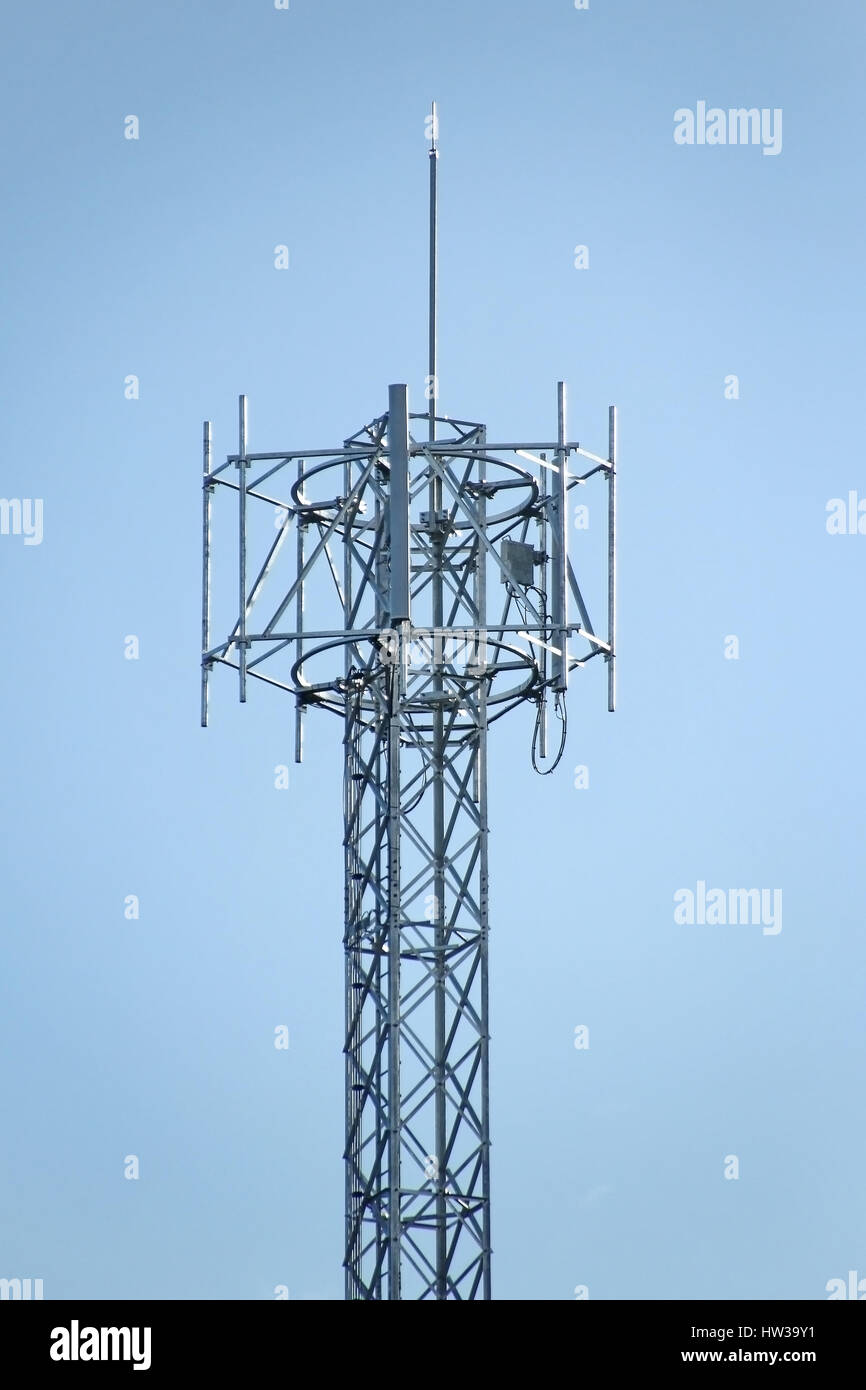 4G Cell site, Telecommunications radio tower or mobile phone