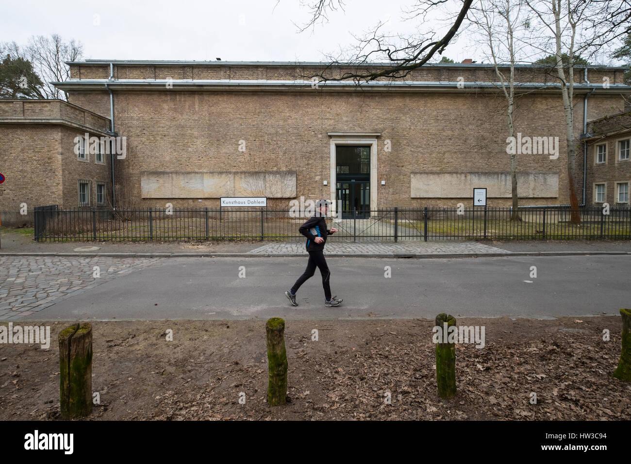 Kunsthaus Dahlem museum, an exhibition venue for postwar German modernism in Dahlem, Berlin , Germany - Stock Image