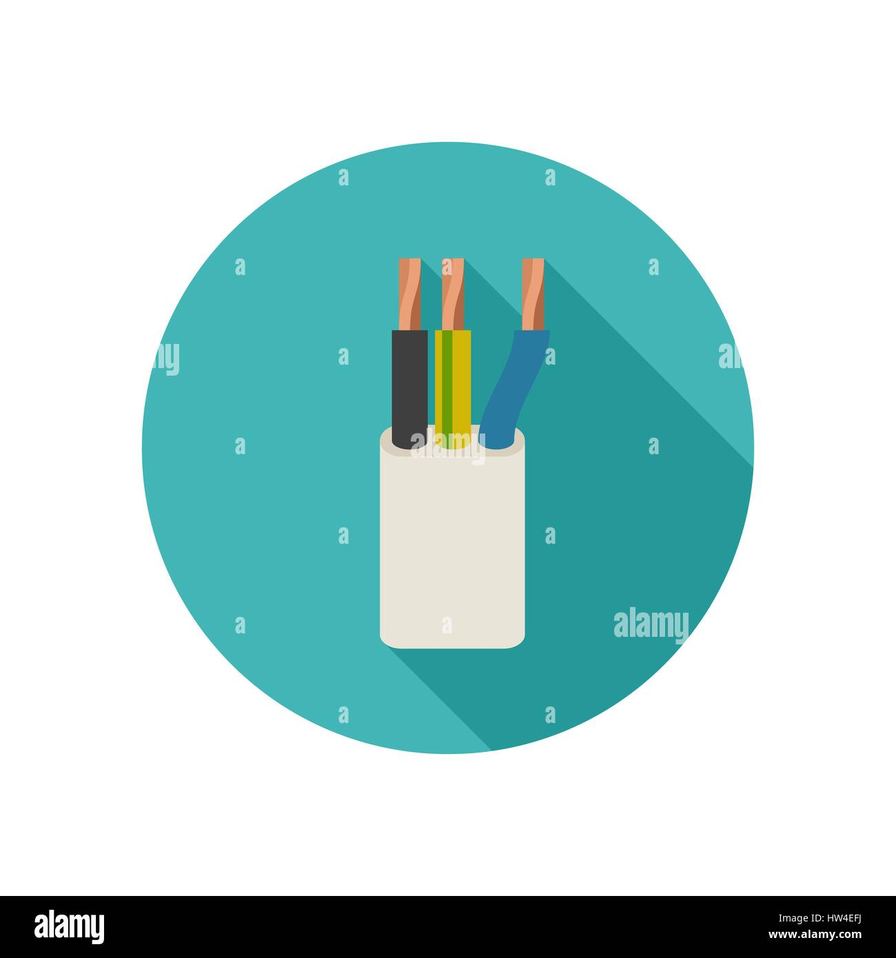 Copper Wire Stock Vector Images - Alamy