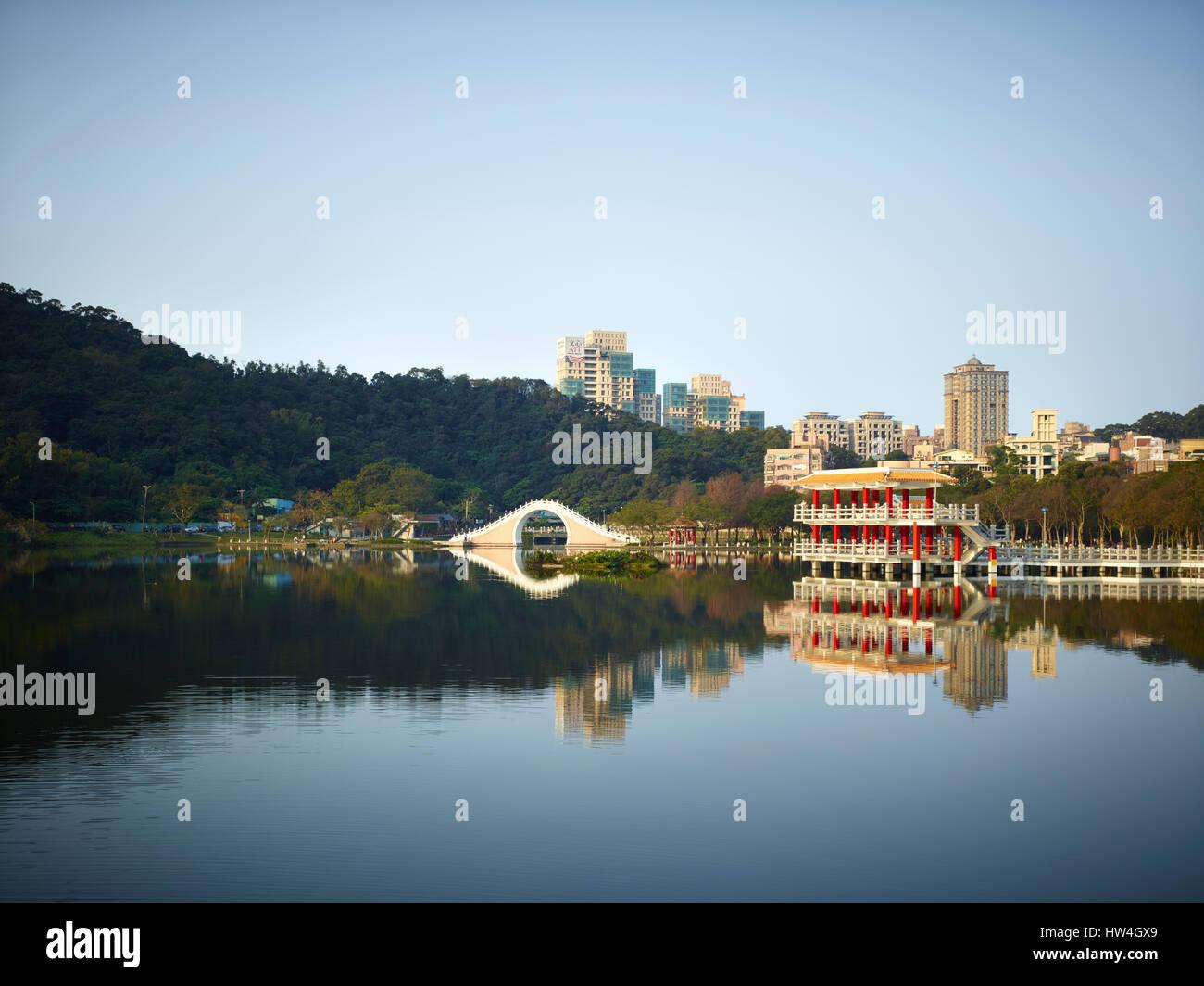 AIT Win Sing Towers, Taipei. - Stock Image
