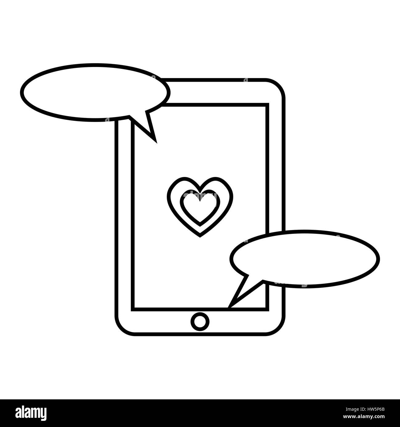 Sms Icon Text Message Symbol Black and White Stock Photos