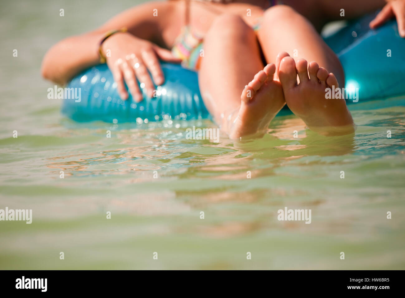 summertime kid - Stock Image