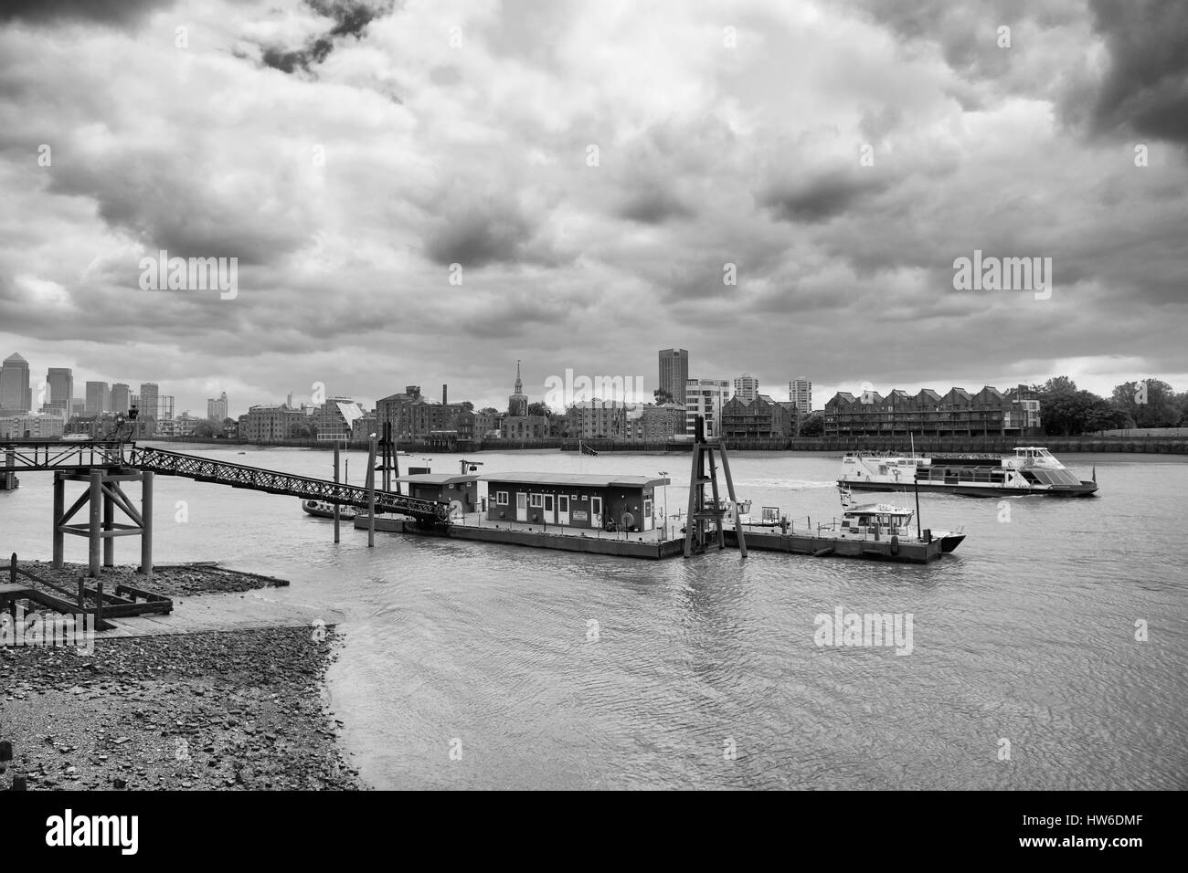 Metropolitan Police Marine Policing Unit, River Thames, London, England - Stock Image