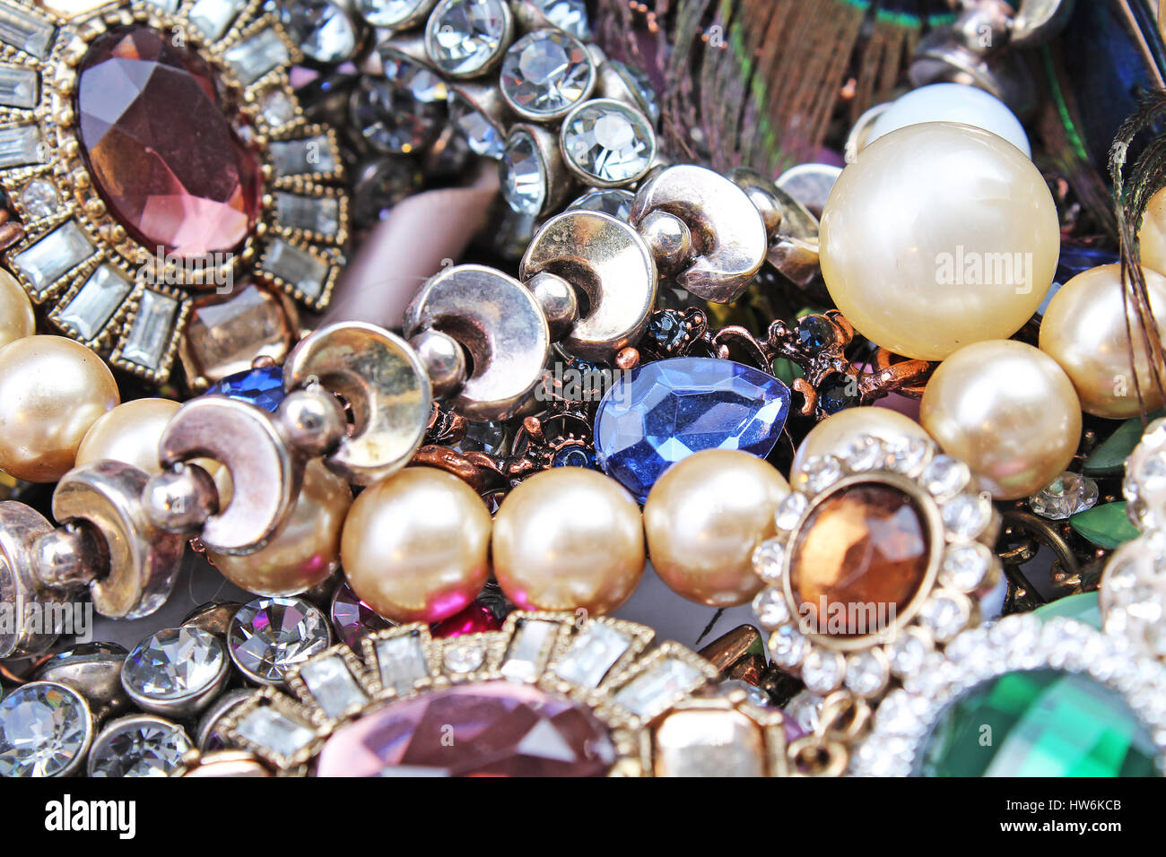 Jewels. - Stock Image