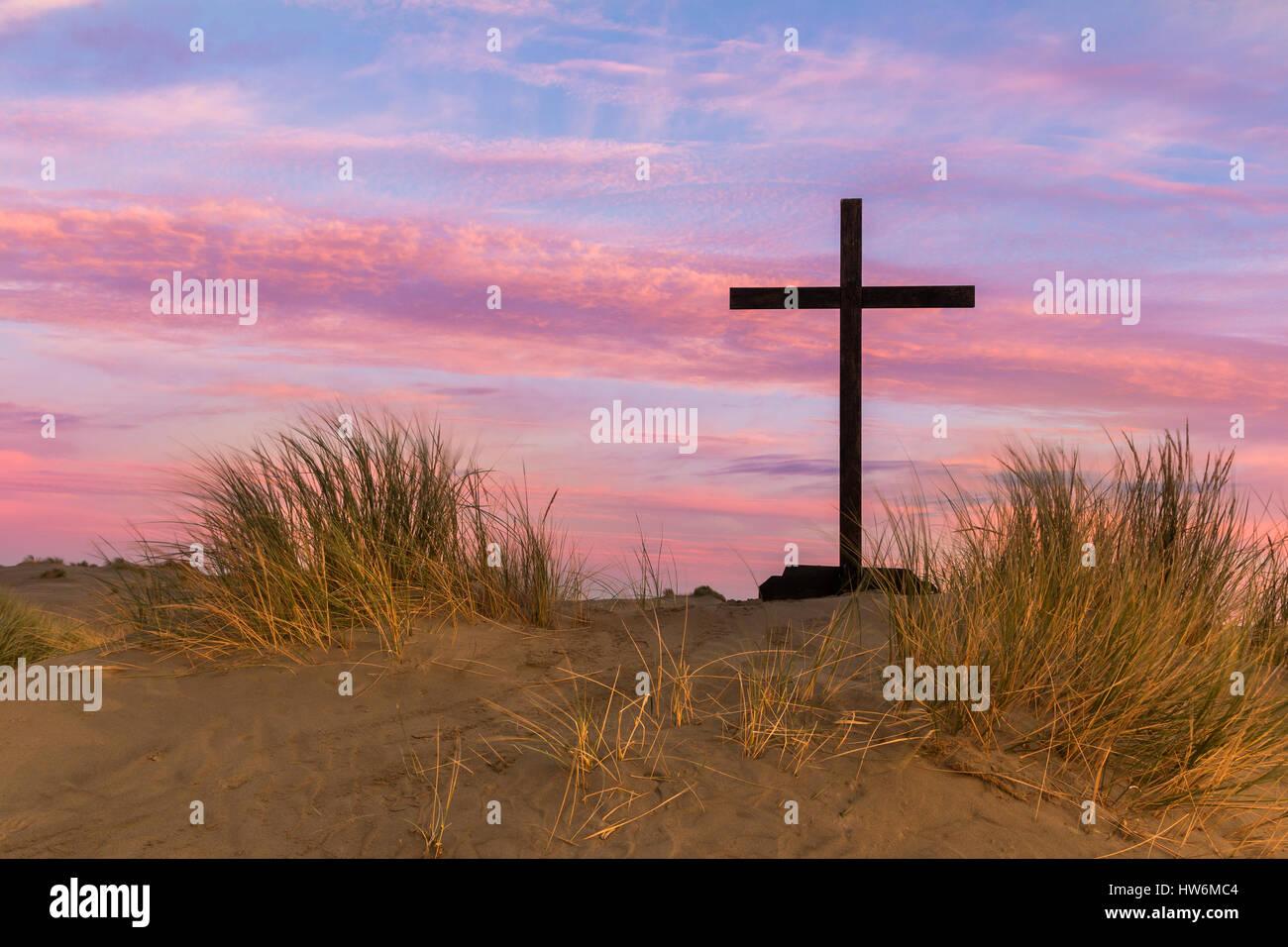 Black Jesus Cross On Colorful Stock Photos & Black Jesus Cross On ...