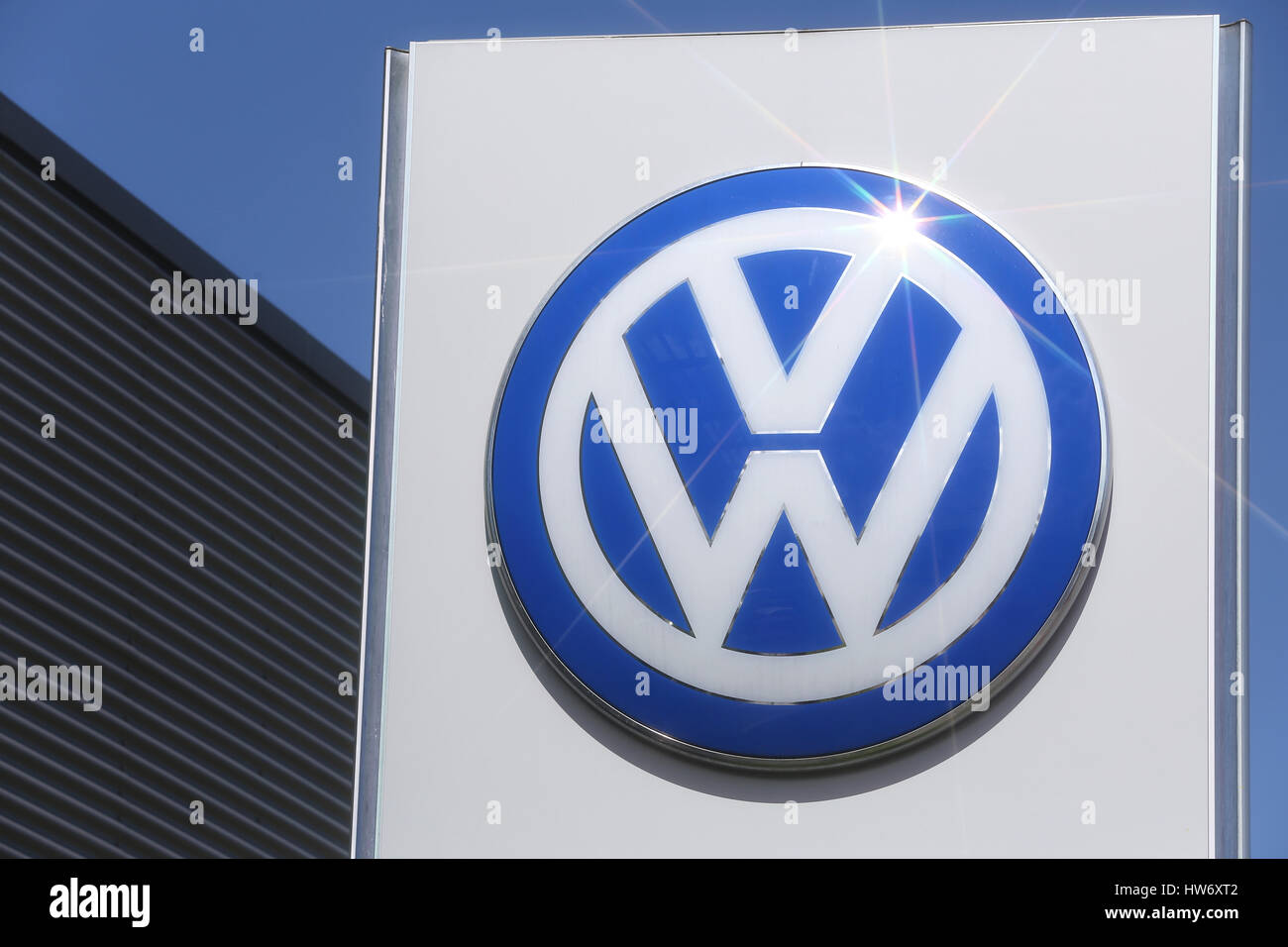 Volkswagen Dealer Stock Photos Amp Volkswagen Dealer Stock