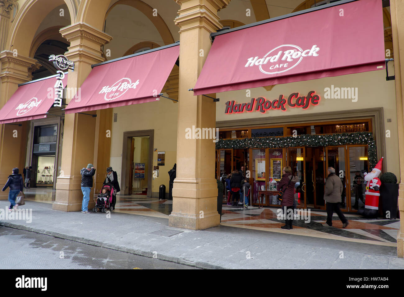 Hard Rock Cafe Florence Italy Menu