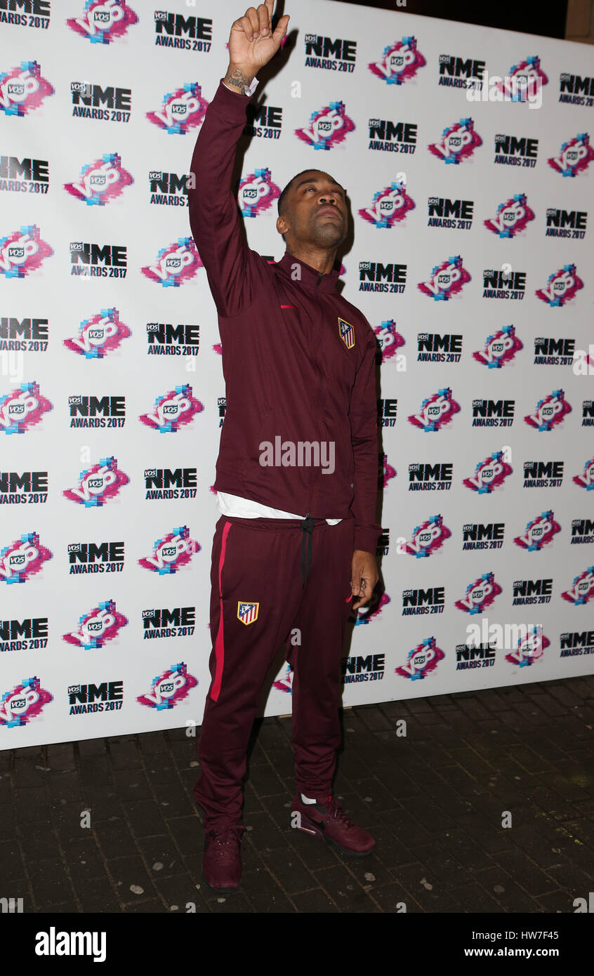 VO5 NME Awards 2017 - Arrivals  Featuring: Wiley Where: London, United Kingdom When: 15 Feb 2017 Stock Photo