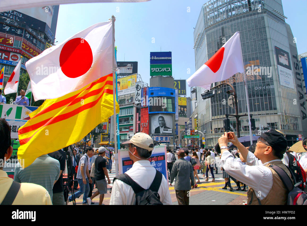 [✓] Etat du Japon Protest-against-chinese-invasion-of-south-east-asia-in-shibuya-tokyo-HW7FD2