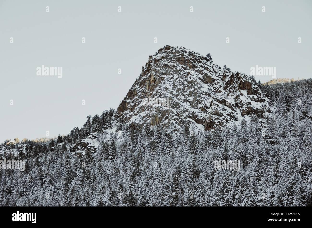 Sonder Explorations - Morrison mountaintop. - Stock Image