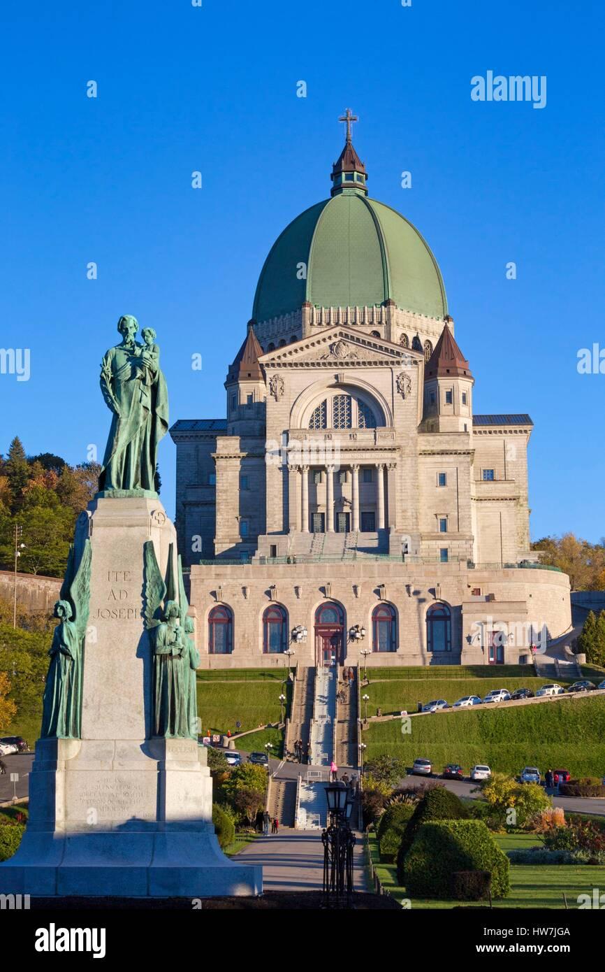 Canada, Quebec province, Montreal, Saint Joseph's Oratory famous pilgrimage site Stock Photo