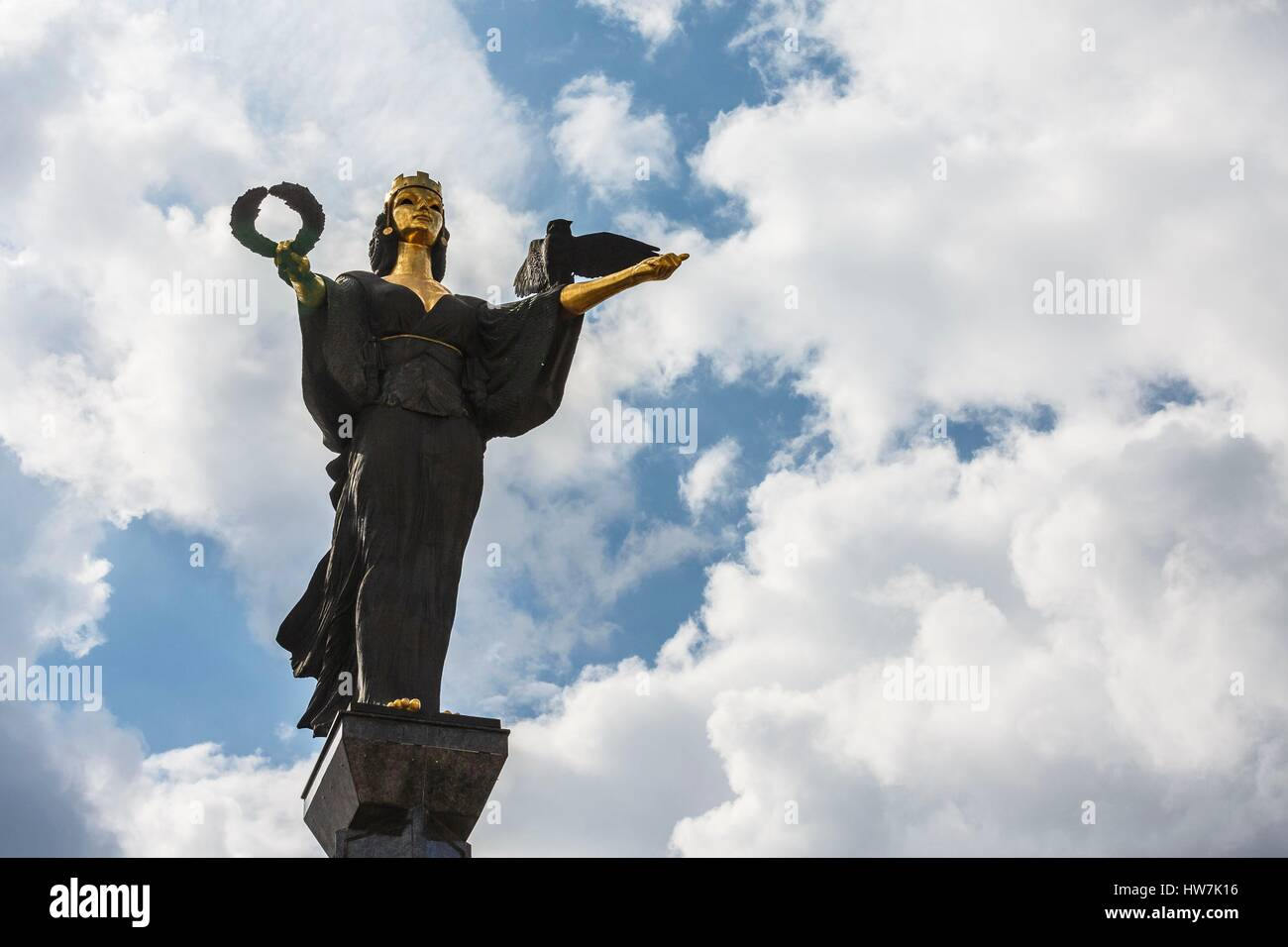 Bulgaria, Sofia, Saint Sophia column - Stock Image