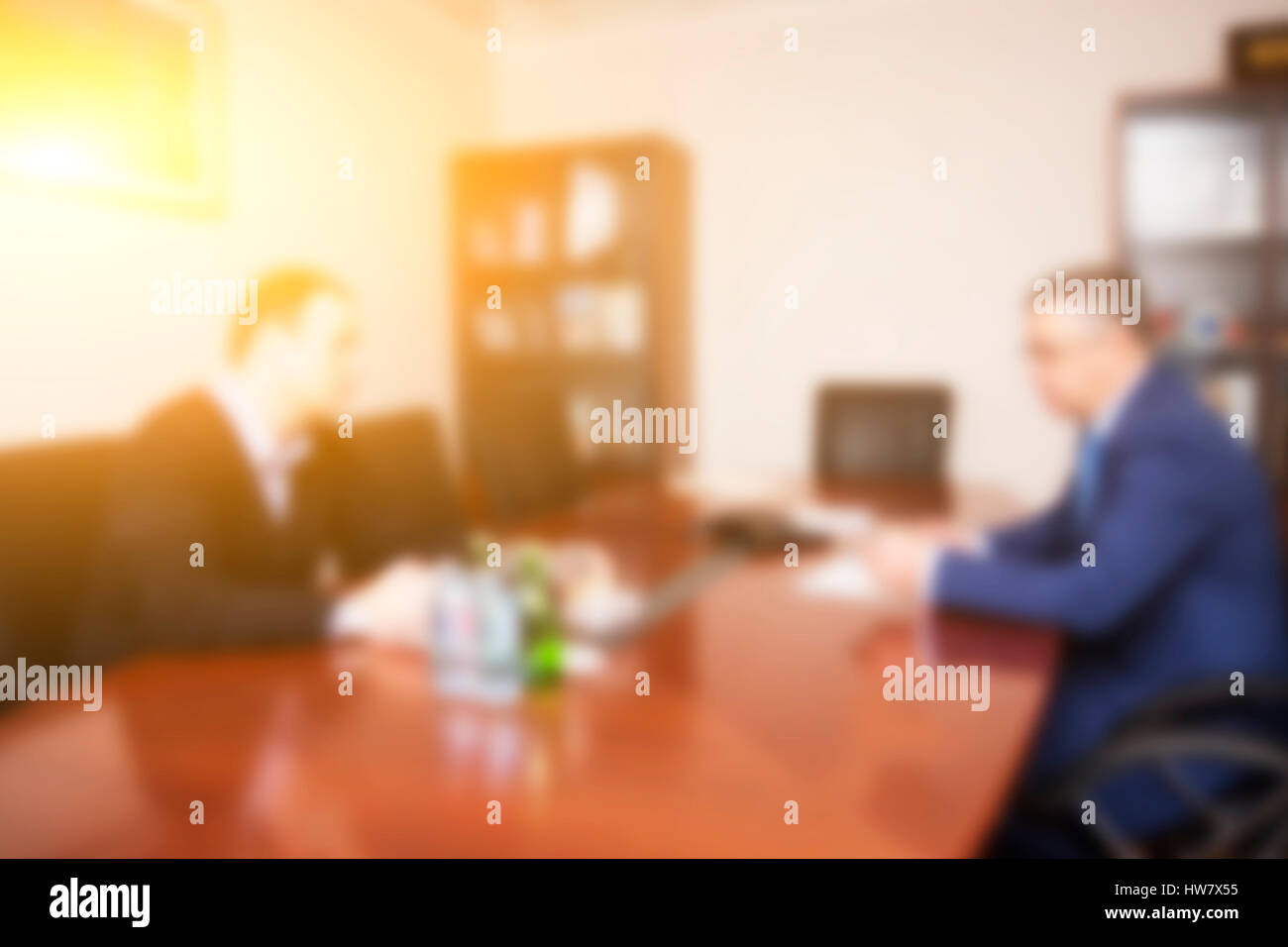 Picture of mens in office - Stock Image