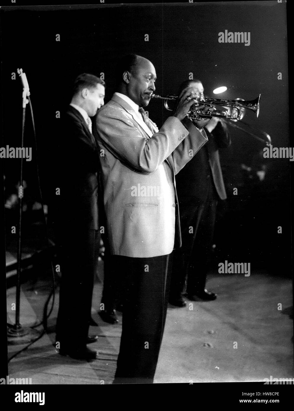 1968 - L'orchestre Rene France. NPM: Ala Trompette Bill Coleman. Credit: Keystone Pictures USA/ZUMAPRESS.com/Alamy - Stock Image