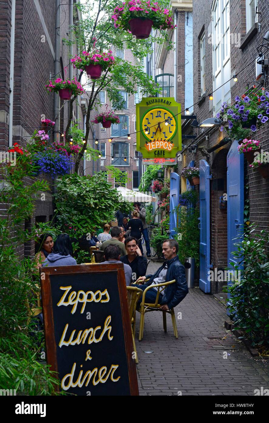 Netherlands, Holland, Amsterdam, shop at a stalemate - Stock Image