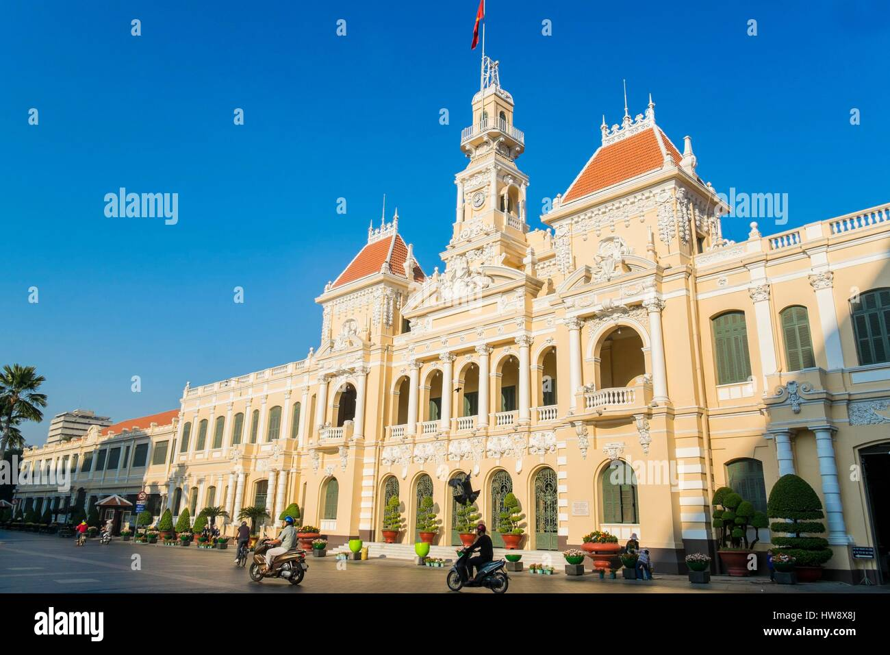 Vietnam, Ho Chi Minh City (Saigon), City Hall - Stock Image