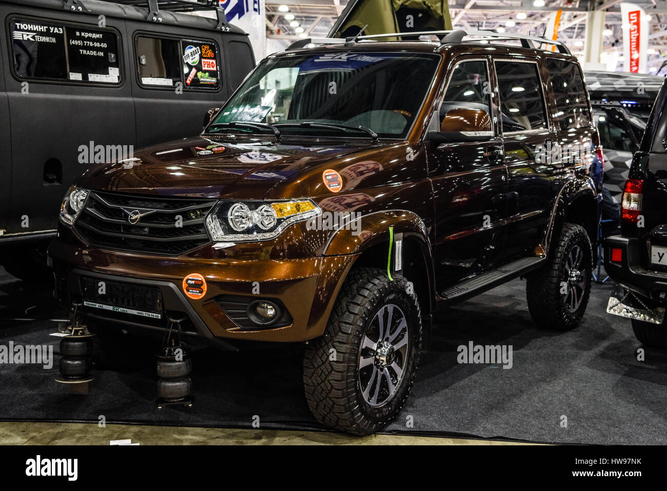 News Updated UAZ Patriot: official photos of the exterior and salon