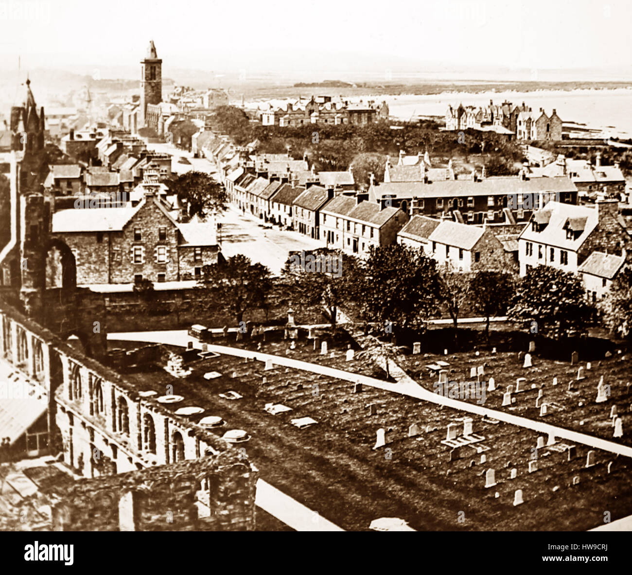 St. Andrews, Scotland - Victorian period - Stock Image