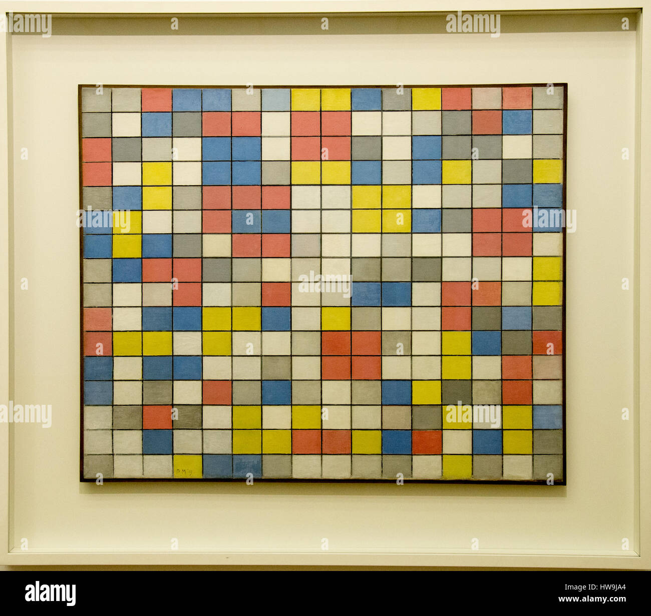 Piet Mondriaan Mondrian Netherlands Dutch Stock Photos & Piet ...