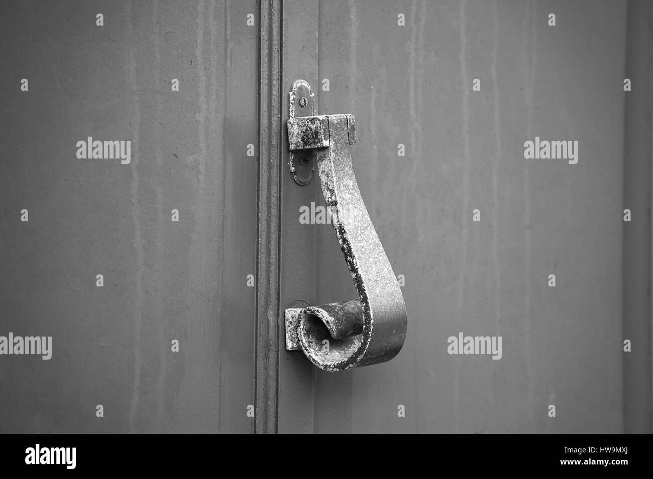heurtoir de porte . - Stock Image