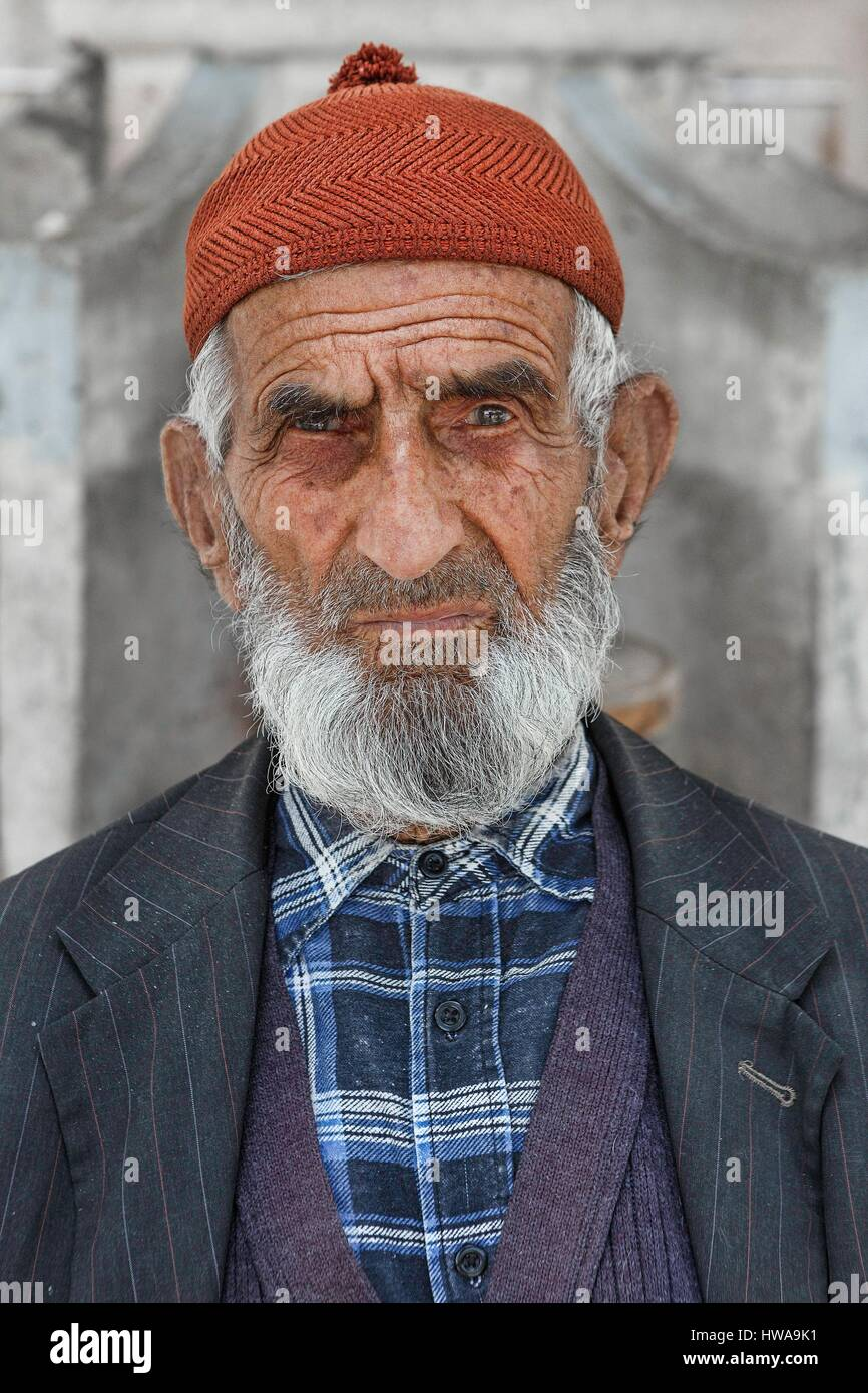 Uomo turco anziano Fotografie Stock Vecchie azione turche dell'uomo-6489
