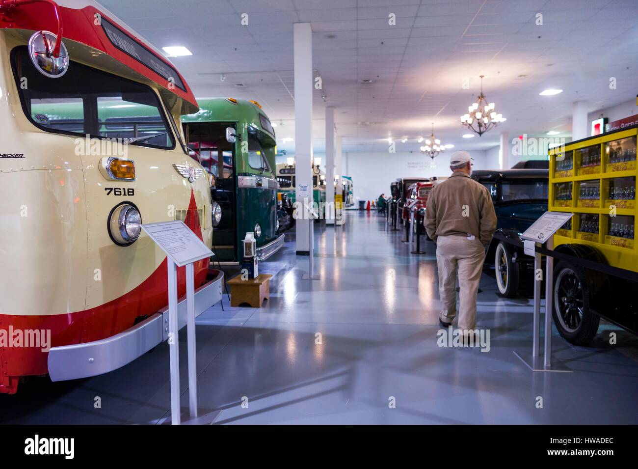 Museum Of Bus Transportation High Resolution Stock Photography And Images Alamy