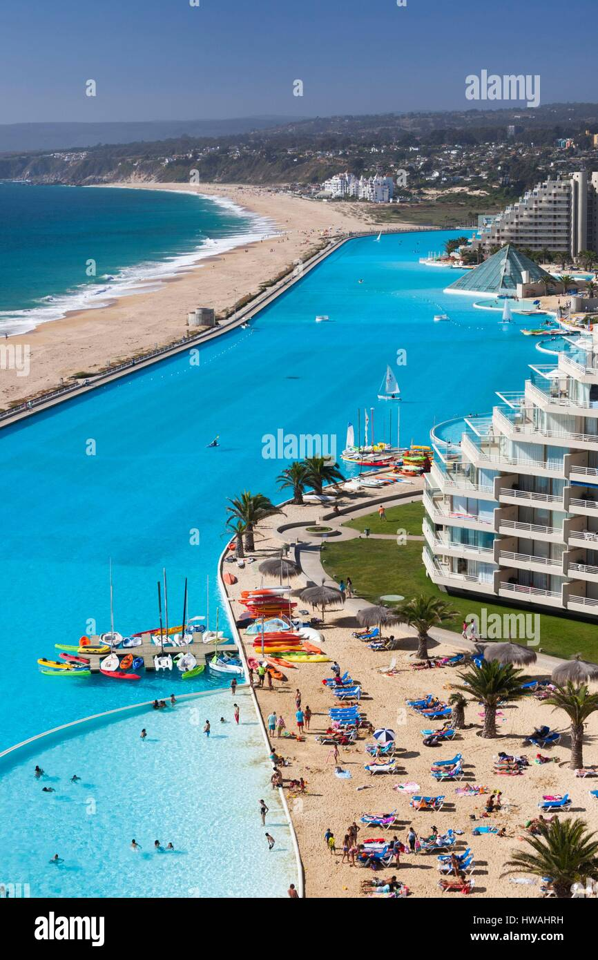 Largest Pool In Chile >> Chile Algarrobo San Alfonso Del Mar World S Largest Man