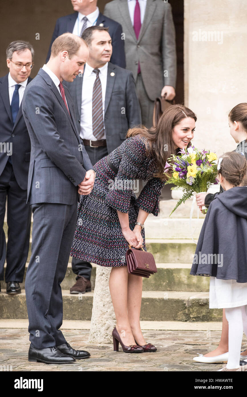 Prince William and Catherine's Weekend In Paris pics