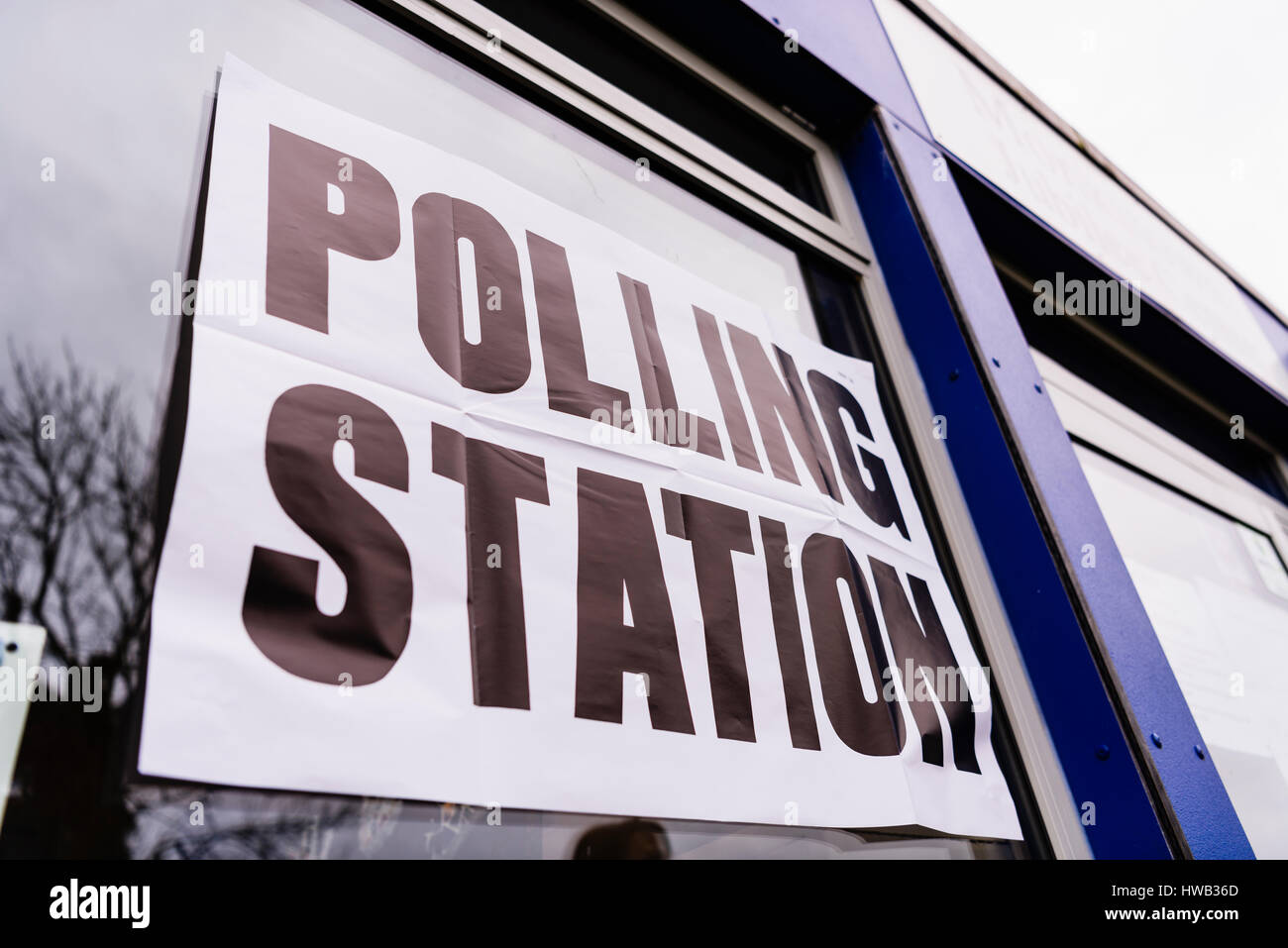 Polling Station - Stock Image