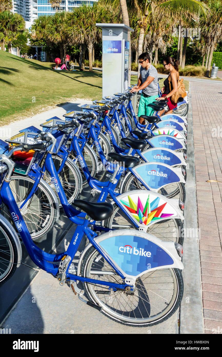Citi Bike Miami >> Miami Beach Florida South Pointe Park Citi Bike Bike