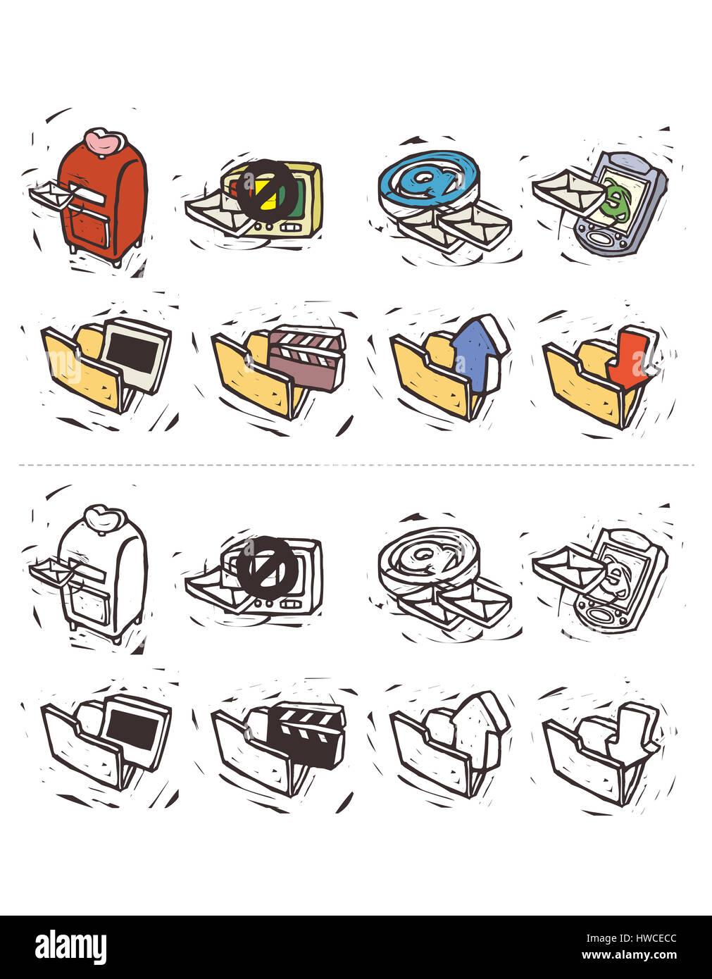arrangement,arrow,arrow sign,bizarre,collection,color image,communication,computer sign,concepts,connection,correspondence,creativity,depiction,direction,display,downward,e - Stock Image