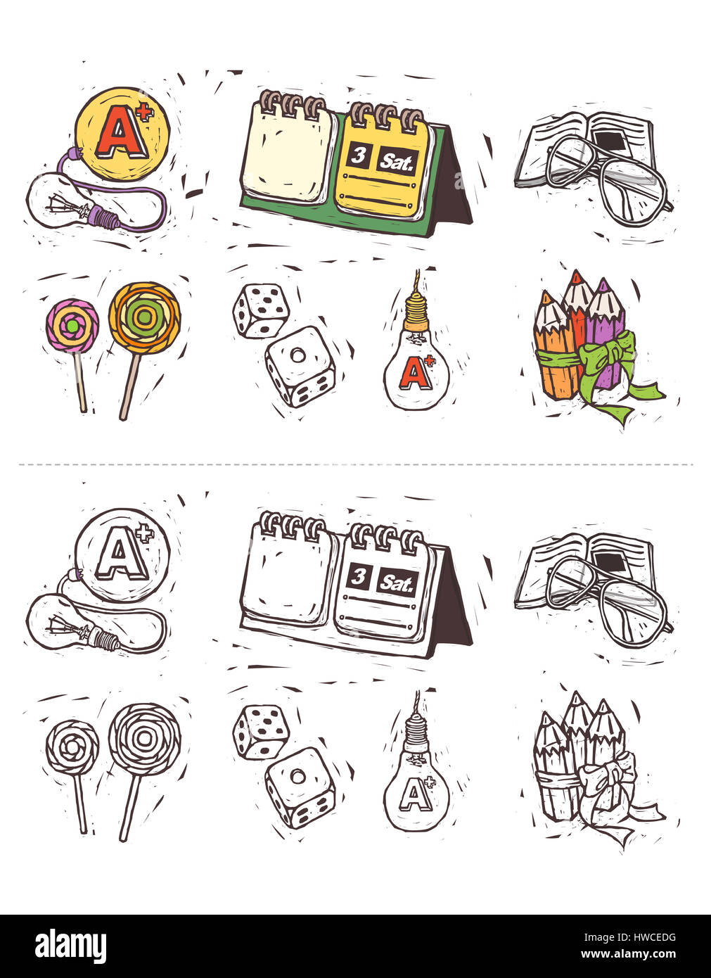 alphabet,arrangement,bizarre,book,bulb,calendar,candy