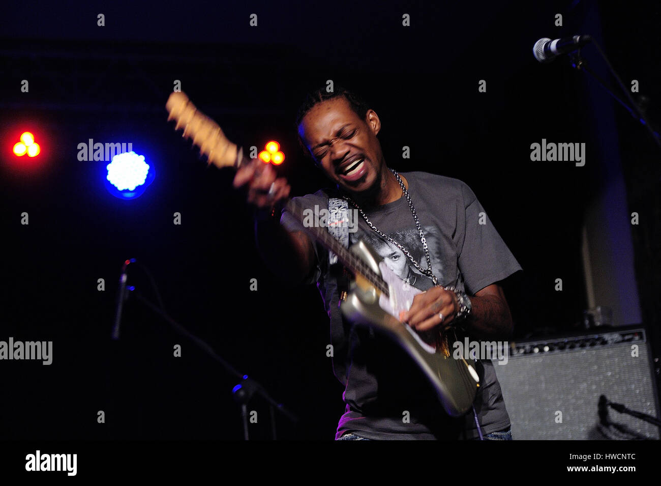 Eric Gales, (aka Raw Dawg) (born October 29, 1974, Memphis Tennessee,Blues-rock, hard rock, blues, heavy metal,Musician, Stock Photo