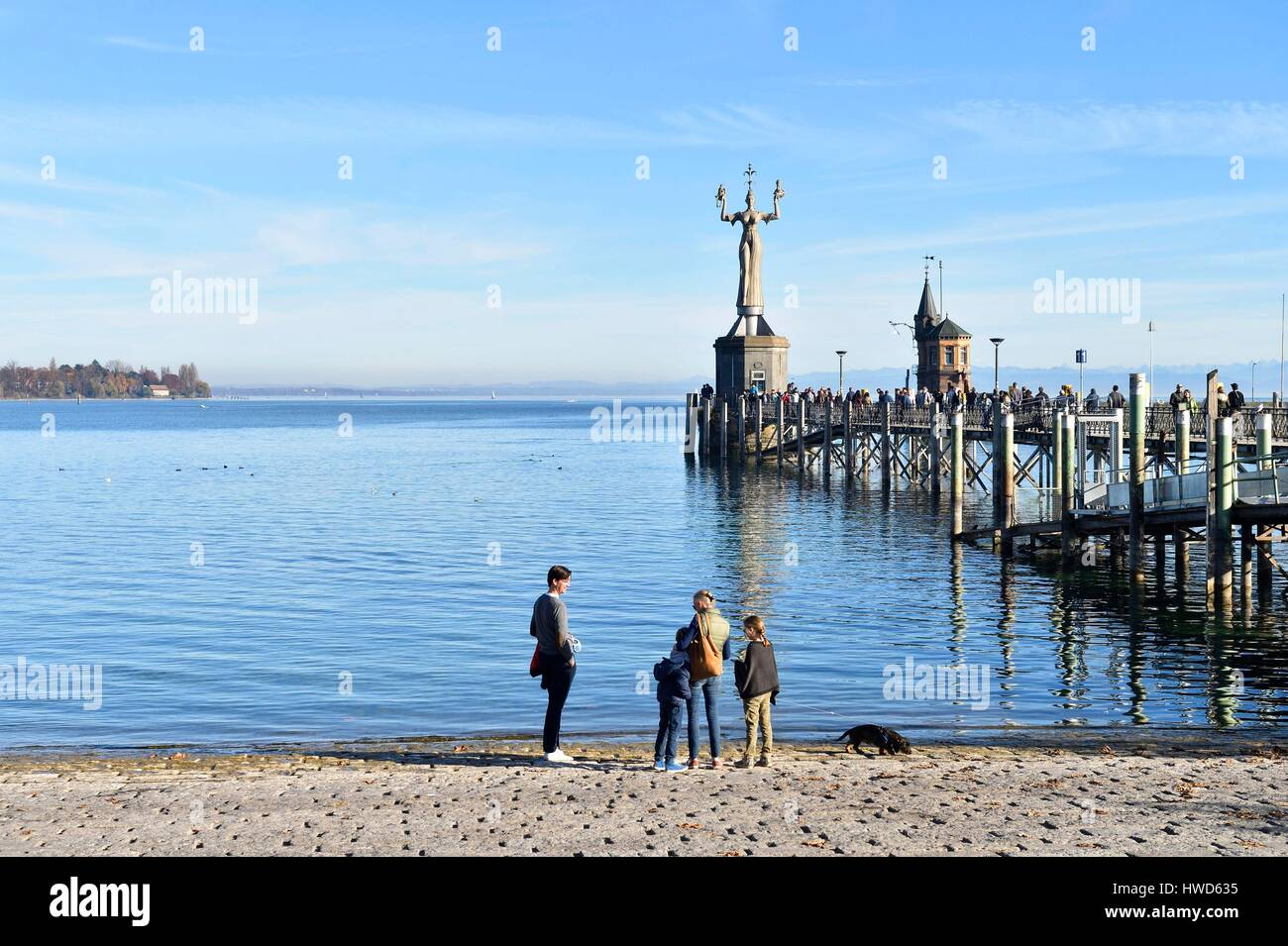Germany Bade Wurtemberg Lake Constance Bodensee Konstanz The