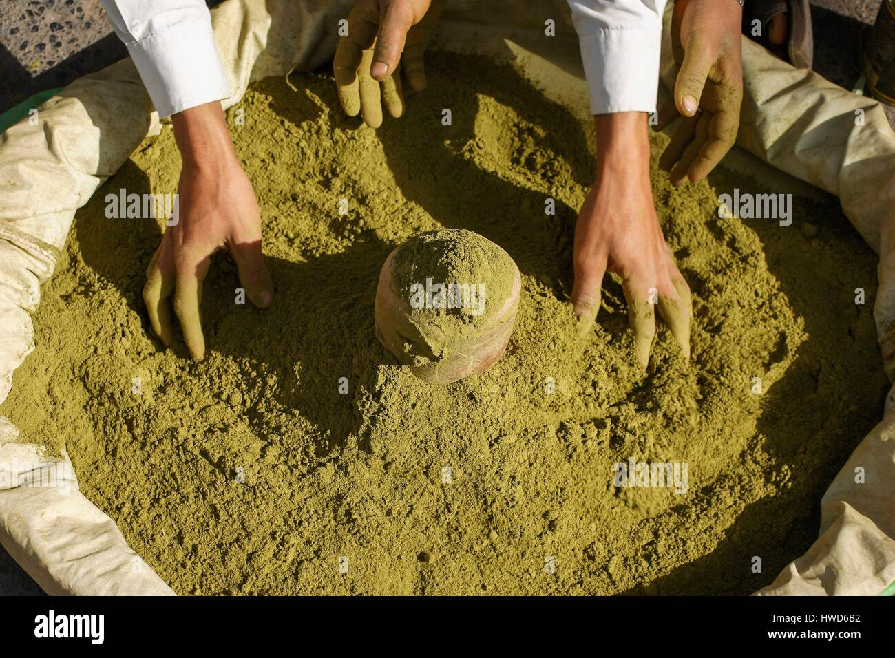 Yemen Henna Stock Photo 136129366 Alamy
