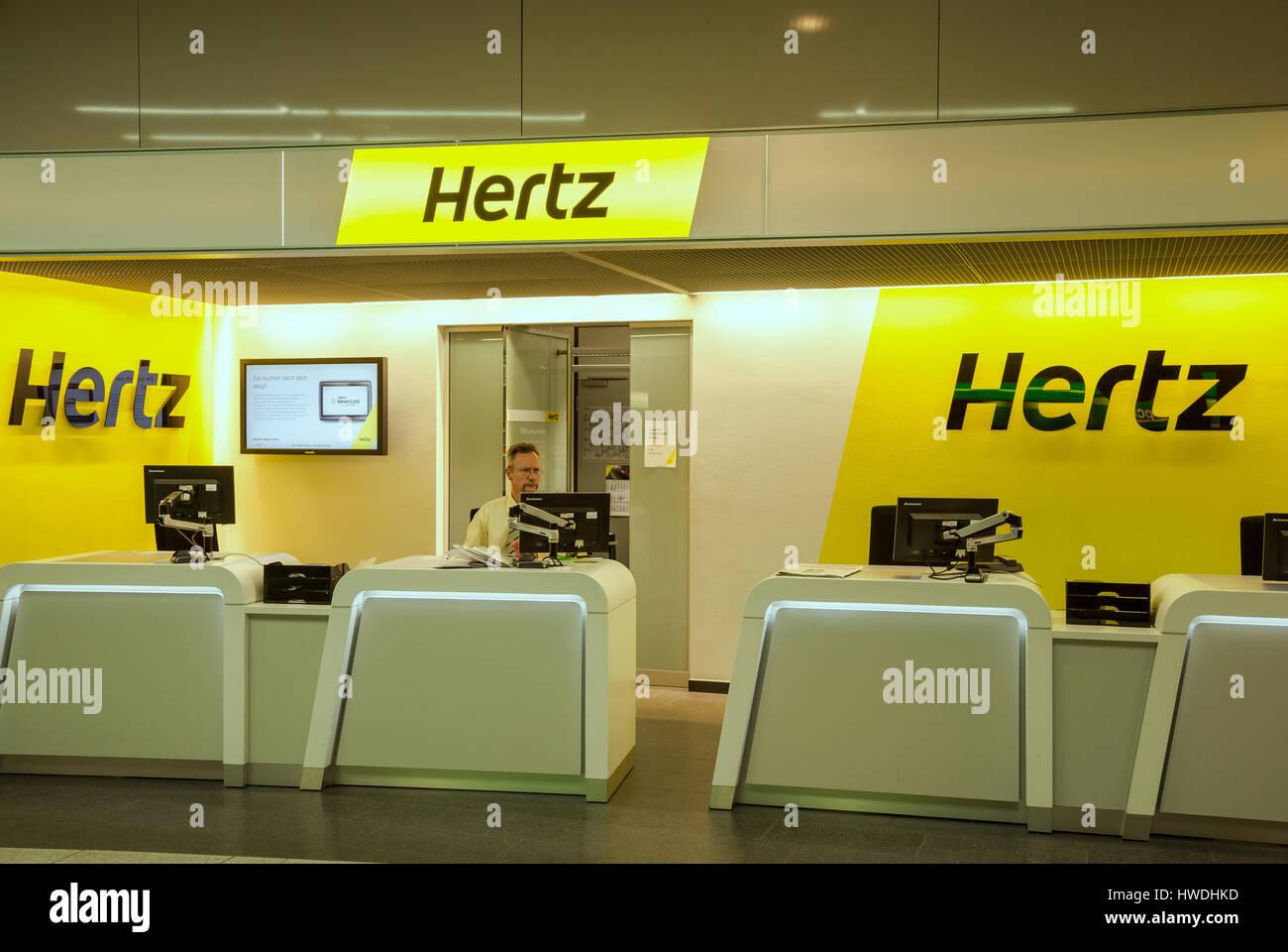 hertz rental car stock photos hertz rental car stock. Black Bedroom Furniture Sets. Home Design Ideas