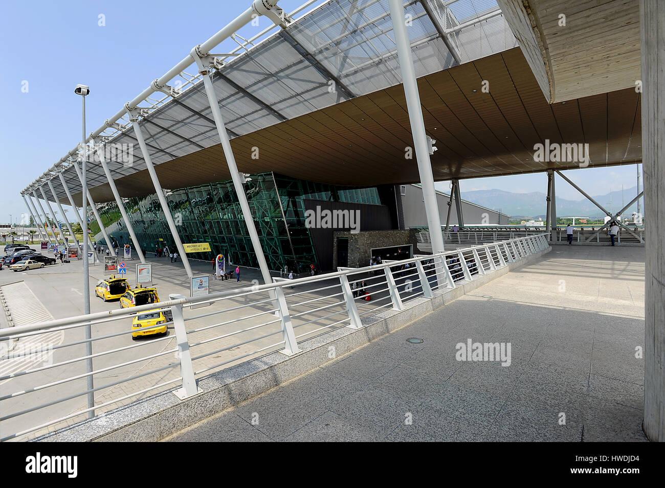 Tirana, Albania, Tirana Airport - Stock Image
