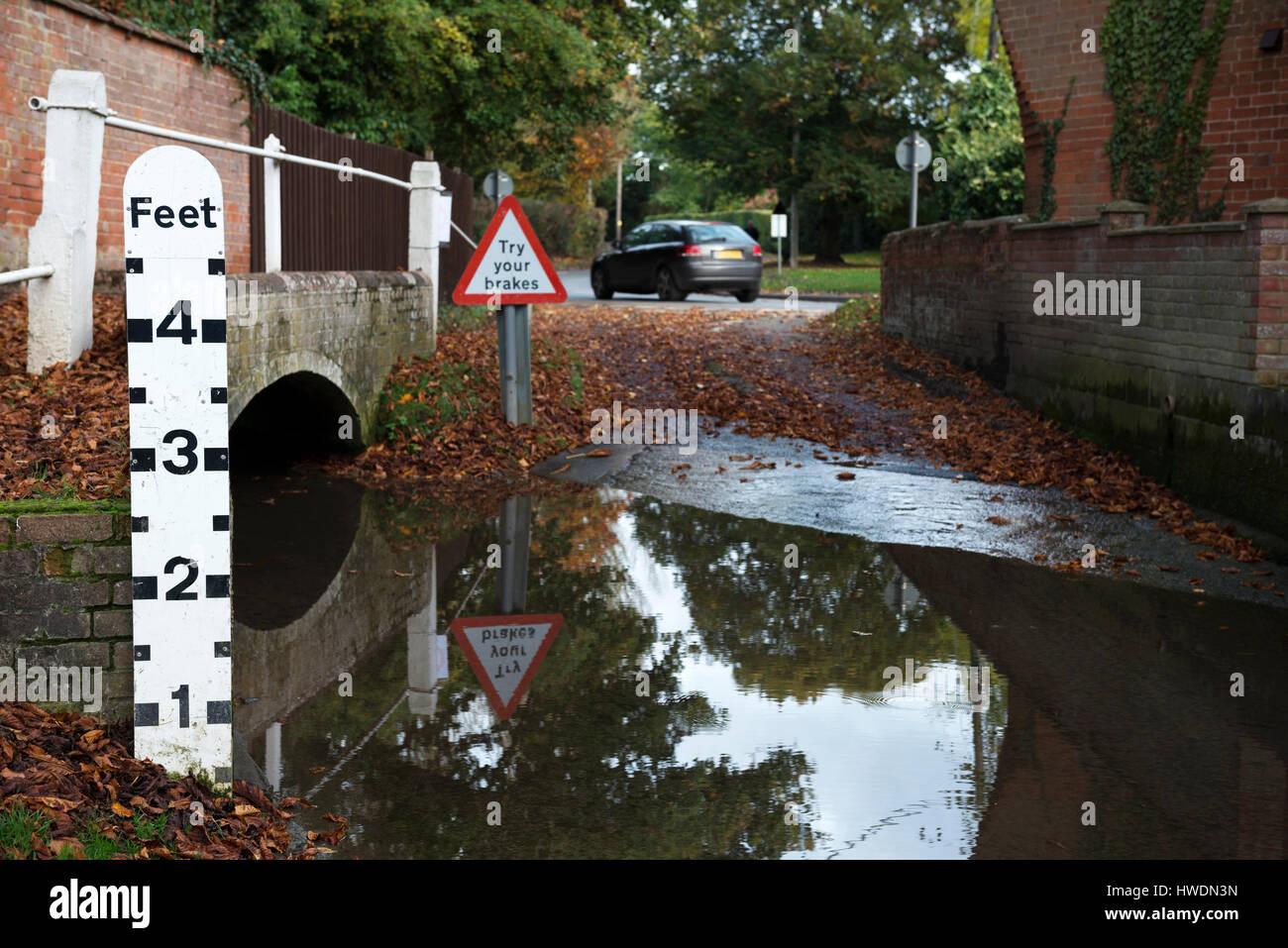 Ford, Grundisburgh, Suffolk, England. - Stock Image