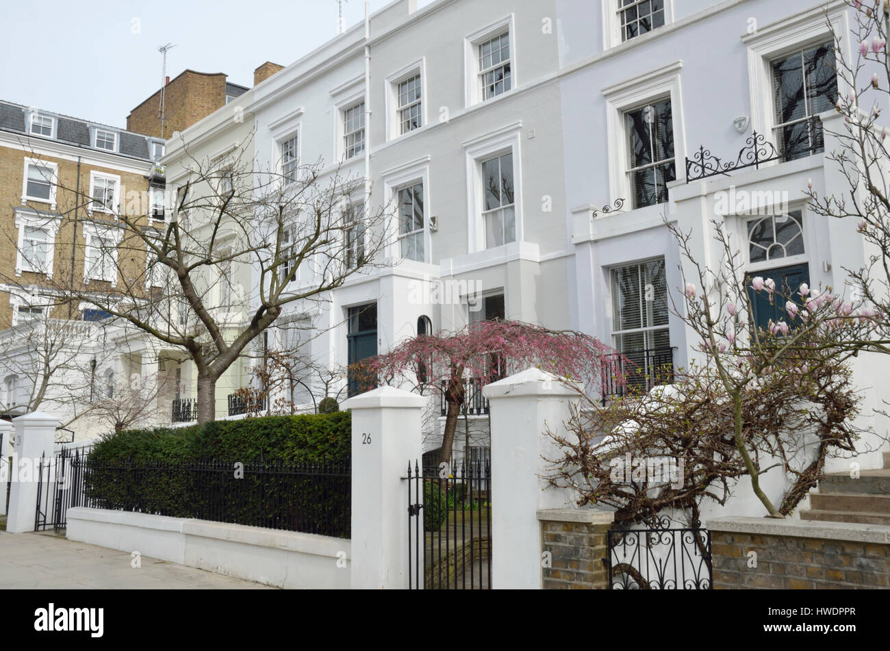 Notting Hill Ladbroke Grove in ladbroke grove high resolution stock photography and