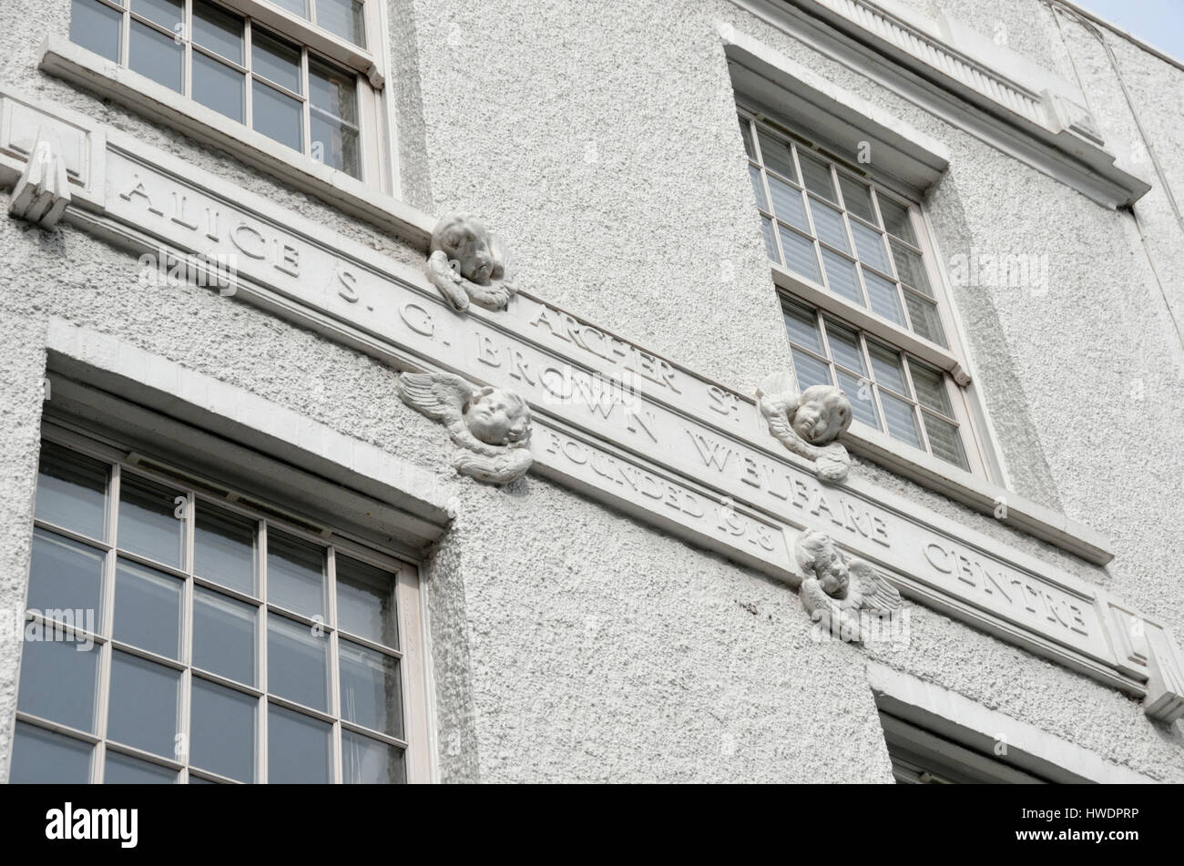 The former Alice S. G. Brown Welfare Centre founded in 1918 in Westbourne Grove, Notting Hill, London, UK. - Stock Image