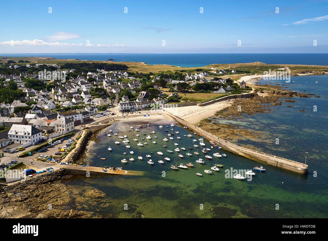 France morbihan quiberon peninsula saint pierre quiberon portivy stock photo 136143543 alamy - Office de tourisme saint pierre quiberon ...