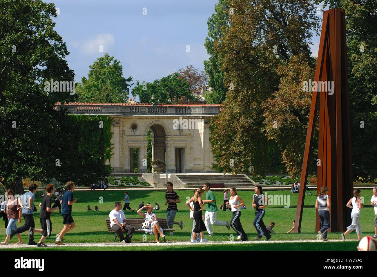 jardin public public park bordeaux stock photos jardin public public park bordeaux stock. Black Bedroom Furniture Sets. Home Design Ideas