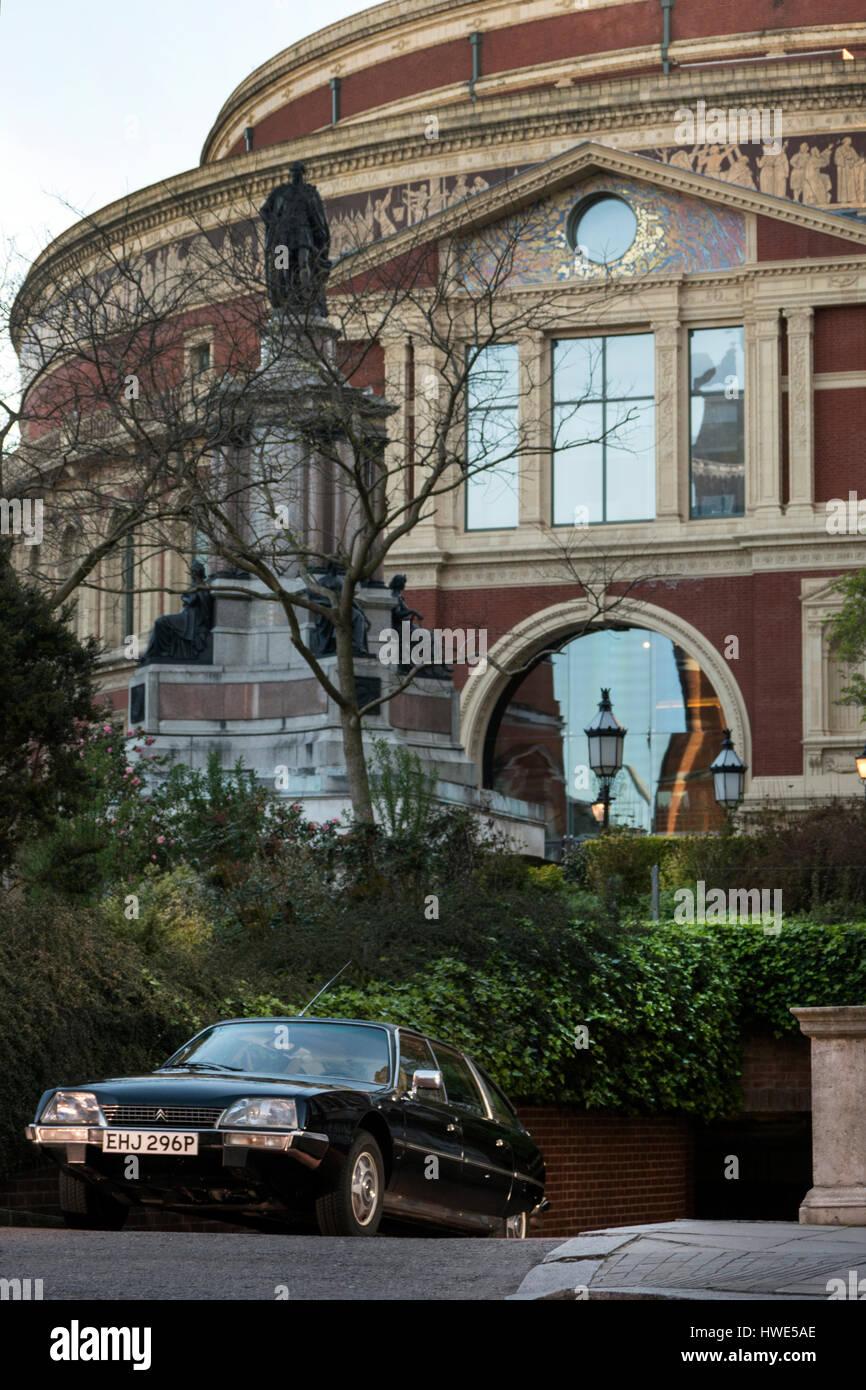 1976 Citroen CX Prestige at the Royal Albert Hall London UK - Stock Image