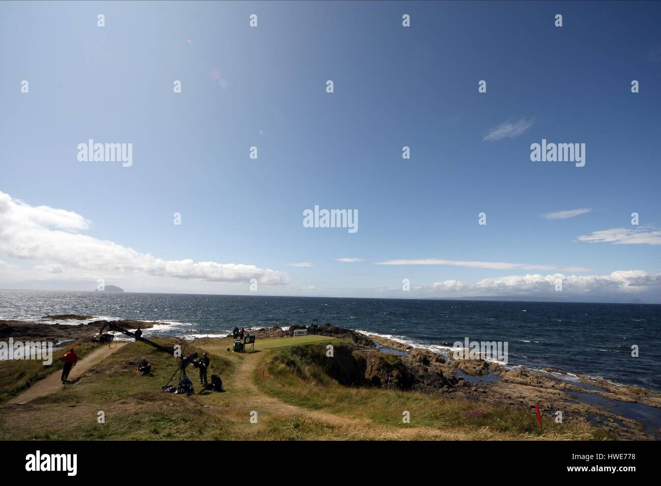 9TH TEE AT TURNBERRY TURNBERRY AYRSHIRE SCOTLAND TURNBERRY AYRSHIRE SCOTLAND 19 July 2009 - Stock Image