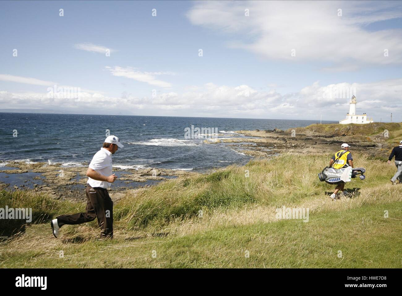 GRAEME MCDOWELL ON THE 9TH THE OPEN TURNBERRY 2009 TURNBERRY AYRSHIRE SCOTLAND 19 July 2009 - Stock Image