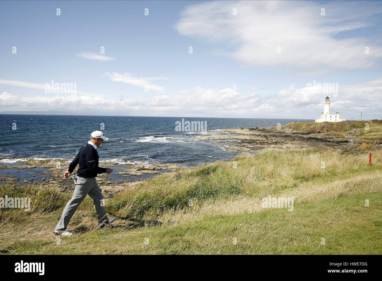PAUL MCGINLEY ON THE 9TH HOLE THE OPEN TURNBERRY 2009 TURNBERRY AYRSHIRE SCOTLAND 19 July 2009 - Stock Image