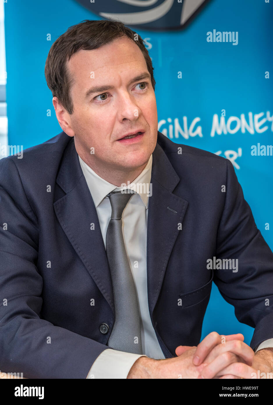 George Osborne M.P. for Tatton and former chancellor. Tory - Stock Image