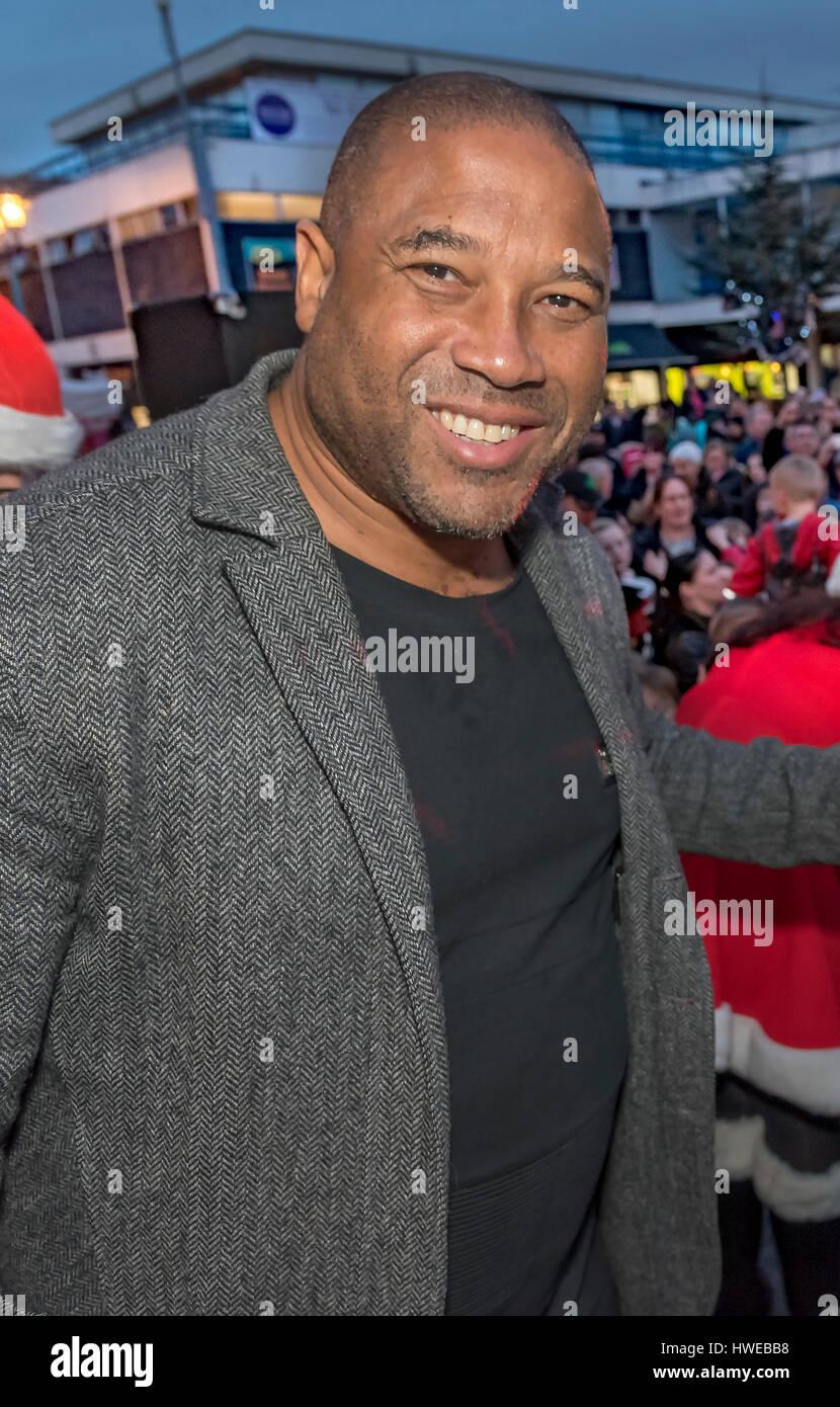 John Barnes. Former Liverpool FC player. - Stock Image
