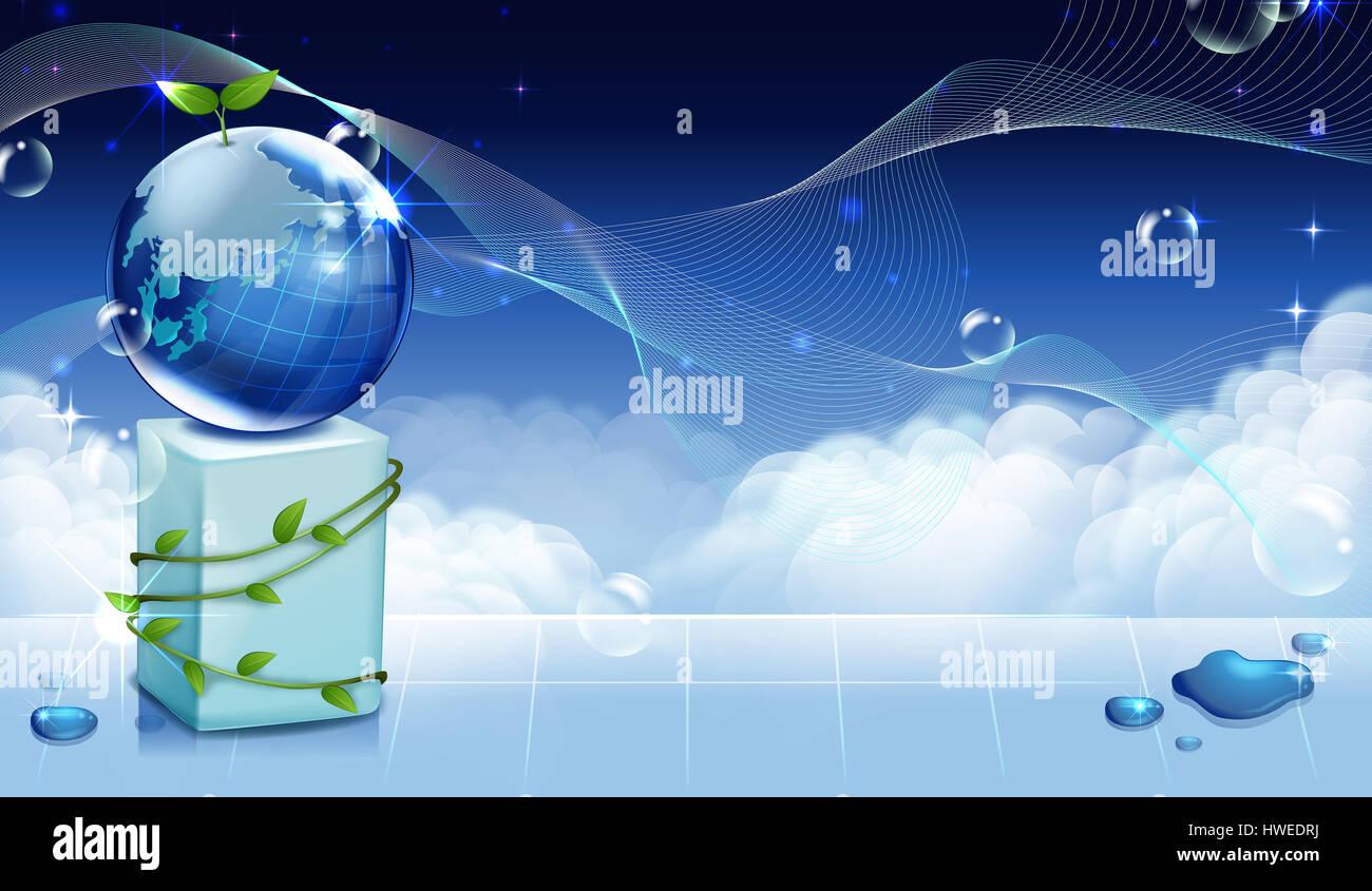 earth,globe,upward,top,success,blue,world wide Stock Photo